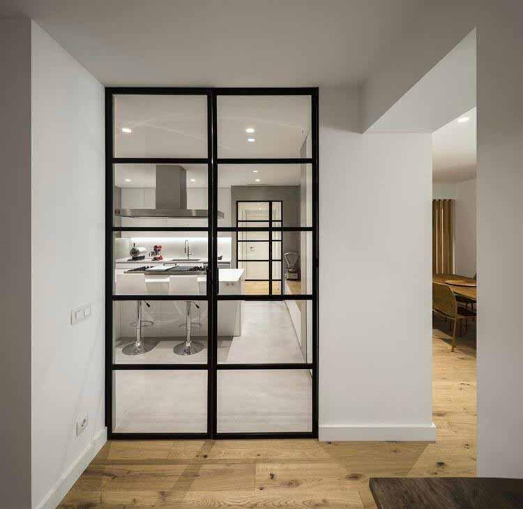 puerta metalica interior
