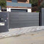 puerta metalica exterior